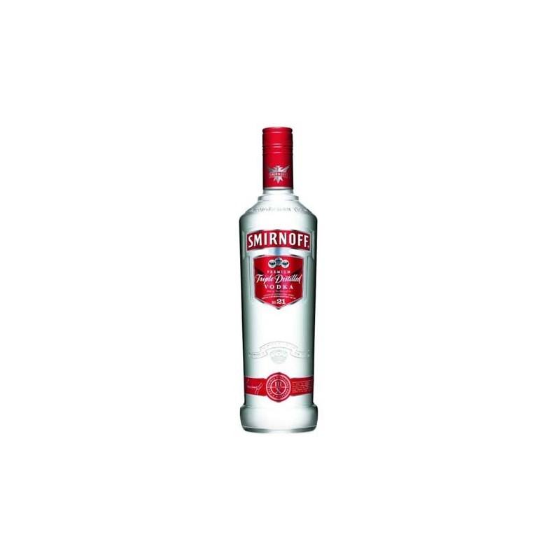 Vodka Smirnoff rossa