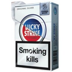 Lucky Strike Original Silver Blue