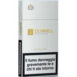 Dunhill Gold Slims