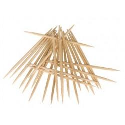 Stuzzicadenti in legno a 2 punte