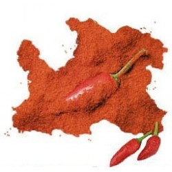 Paprika dolce in polvere
