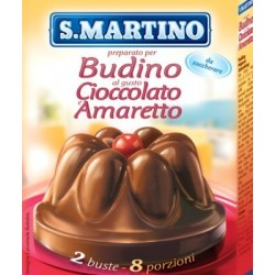 Budino all'amaretto S Martino
