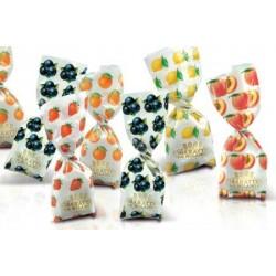 Caramelle ripiene alla frutta