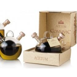 Convivio, aceto balsamico di Modena e olio extra vergine di oliva