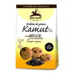 Frollini di grano khorasan Kamut con gocce di cioccolato