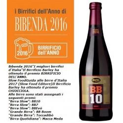 BB10, Imperial Stout alla sapa da uve Cannonau