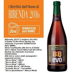 BB Evò, Barley Wine alla sapa da uve Nasco