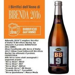 BB9, Strong Ale alla sapa da uve Malvasia