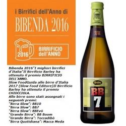 BB7, Italian Grape Ale al mosto fresco da uve bianche aromatiche
