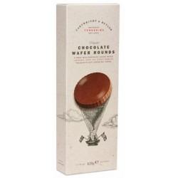 Wafers tondi al cioccolato