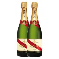 Twin Pack Mumm Cordon Rouge Brut