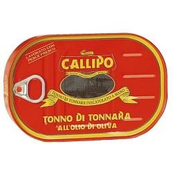 Tonno di tonnara all'olio di oliva