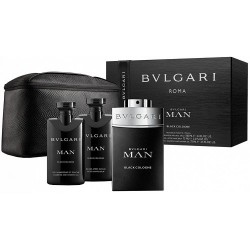Bulgari Man  in Black  Xmas Set
