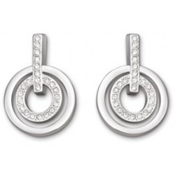 Mini Circle pierced earrings