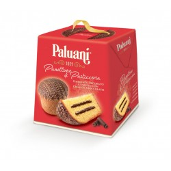 Panettone with chocolate...