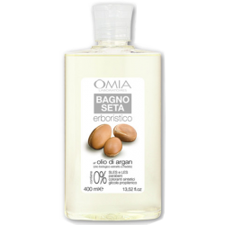 Silk bath oil argan, Omnia Bio