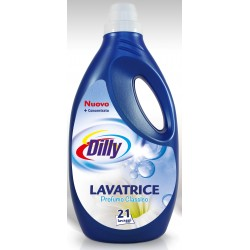 Dilly washing machine, liquid