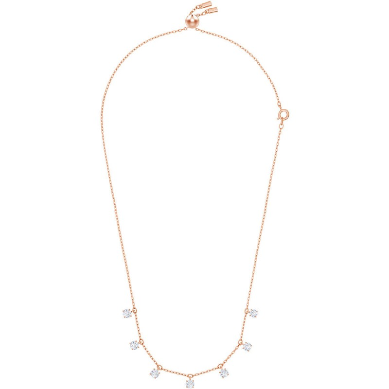 87822996be Add that special Swarovski sparkle to any outfit with this simple and  on-trend choker necklace, a new addition to our bestselling Attract jewelry  family.