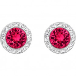 Angelic pierced earrings, red