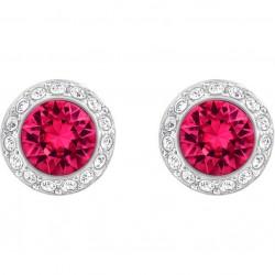 Angelic pierced earrings, red
