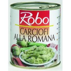"""Carciofi """"alla Romana"""", con olio e spezie"""
