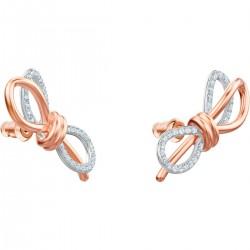 Lifelong Bow pierced earrings