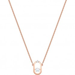 North Necklace, white, rose...