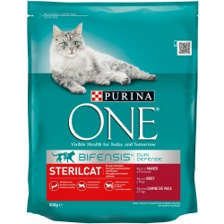 Purina One  sterilcat beef...
