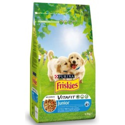 Friskies  Junior dog bites