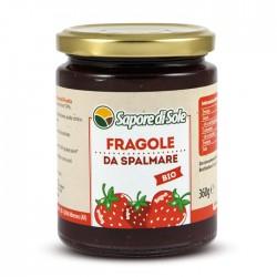 Bio strawberry compote,...