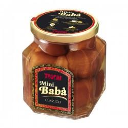Mini-babà with rhum