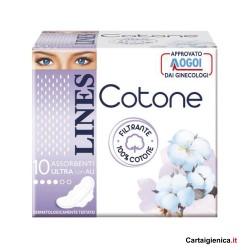 Lines cotton sanitary...