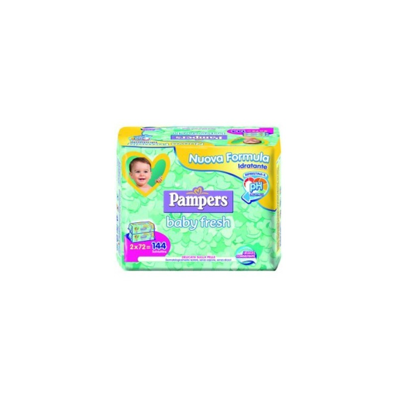 Salviettine Pocket, detergenti a PH fisiologico